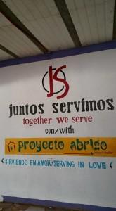 Juntos Servimos Mural
